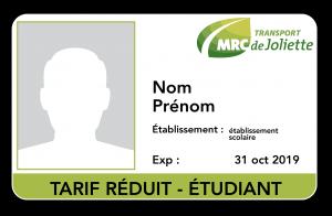Carte Assurance Maladie Repentigny.Tarification Et Carte Opus Mrc De Joliette