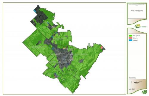 10 plan zone agricole