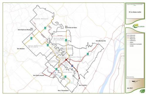 19 plan réseau routier
